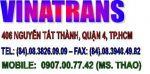 Chằng buộc, đóng kiện gỗ, hút chân không, chuyển nhà, chuyển văn phòng (Vinatrans Tphcm/ 0907.007742 Ms.Thảo)