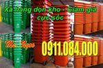 Bán 200 thùng rác 120 lít giảm giá 30% tại quận Tân Phú